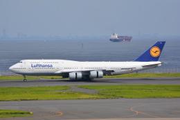LEGACY-747さんが、羽田空港で撮影したルフトハンザドイツ航空 747-830の航空フォト(写真)