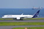 LEGACY-747さんが、羽田空港で撮影したルフトハンザドイツ航空 A350-941の航空フォト(飛行機 写真・画像)