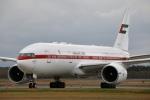 そら丸さんが、新千歳空港で撮影したアミリ フライト 777-2AN/ERの航空フォト(写真)