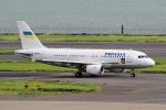 yabyanさんが、羽田空港で撮影したウクライナ政府 A319-115CJの航空フォト(写真)