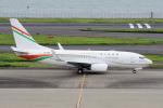 yabyanさんが、羽田空港で撮影したニジェール政府 737-75U BBJの航空フォト(飛行機 写真・画像)