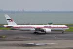 yabyanさんが、羽田空港で撮影したアミリ フライト 777-2AN/ERの航空フォト(飛行機 写真・画像)