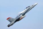 AkiChup0nさんが、岩国空港で撮影したアメリカ海兵隊 F/A-18C Hornetの航空フォト(写真)