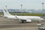 sg-driverさんが、羽田空港で撮影したアラブ・ウイングス 737-7GJ BBJの航空フォト(写真)