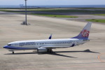 けいとパパさんが、中部国際空港で撮影したチャイナエアライン 737-8Q8の航空フォト(写真)