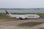 たまさんが、羽田空港で撮影したカタールアミリフライト 747-8KB BBJの航空フォト(写真)