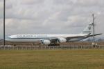 sk380さんが、新千歳空港で撮影したクウェート政府 A340-500の航空フォト(写真)