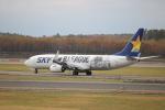 sk380さんが、新千歳空港で撮影したスカイマーク 737-86Nの航空フォト(写真)