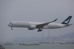 OS52さんが、香港国際空港で撮影したキャセイパシフィック航空 A350-941XWBの航空フォト(写真)