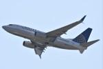 鉄バスさんが、関西国際空港で撮影したユナイテッド航空 737-724の航空フォト(写真)
