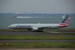 wingace752さんが、羽田空港で撮影したアメリカン航空 777-323/ERの航空フォト(写真)