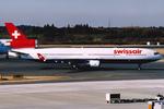 VQ-BELさんが、成田国際空港で撮影したスイス航空 MD-11の航空フォト(写真)