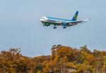 Cygnus00さんが、新千歳空港で撮影したウズベキスタン航空 767-33P/ERの航空フォト(写真)