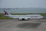 SKY☆101さんが、羽田空港で撮影したカタールアミリフライト 747-8KB BBJの航空フォト(写真)