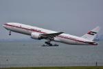 ななにさんが、羽田空港で撮影したアミリ フライト 777-2AN/ERの航空フォト(写真)