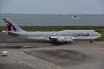ななにさんが、羽田空港で撮影したカタールアミリフライト 747-8KB BBJの航空フォト(写真)