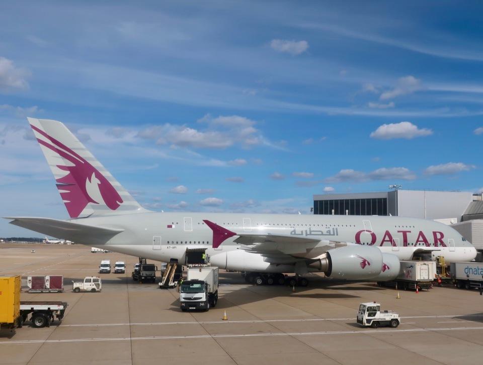 マッペケさんのカタール航空 Airbus A380 (A7-API) 航空フォト