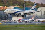 Airliners Freakさんが、チューリッヒ空港で撮影したエル・アル航空 737-8HXの航空フォト(写真)