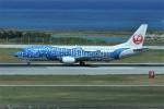 kumagorouさんが、那覇空港で撮影した日本トランスオーシャン航空 737-4Q3の航空フォト(写真)