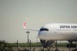 レドームさんが、羽田空港で撮影した日本航空 A350-941XWBの航空フォト(写真)