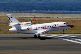 yabyanさんが、中部国際空港で撮影したスペイン空軍 Falcon 900の航空フォト(飛行機 写真・画像)