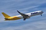 yabyanさんが、中部国際空港で撮影したポーラーエアカーゴ 767-3JHF(ER)の航空フォト(飛行機 写真・画像)