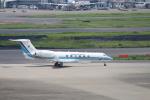100分の1の飛旅人さんが、羽田空港で撮影した海上保安庁 G-V Gulfstream Vの航空フォト(飛行機 写真・画像)