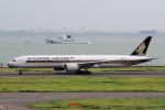 yabyanさんが、羽田空港で撮影したシンガポール航空 777-312/ERの航空フォト(写真)