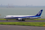 yabyanさんが、羽田空港で撮影した全日空 767-381/ERの航空フォト(飛行機 写真・画像)