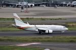 もぐ3さんが、羽田空港で撮影したニジェール政府 737-75U BBJの航空フォト(写真)