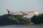 JA8037さんが、プーケット国際空港で撮影したカタール航空 A350-941XWBの航空フォト(写真)