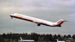ハミングバードさんが、シアトル タコマ国際空港で撮影したトランス・ワールド航空 MD-83 (DC-9-83)の航空フォト(写真)