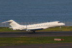AkilaYさんが、羽田空港で撮影したグローバル・ジェット・ルクセンブルクの航空フォト(写真)