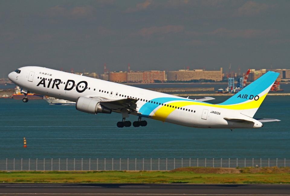 りんたろうさんのAIR DO Boeing 767-300 (JA613A) 航空フォト