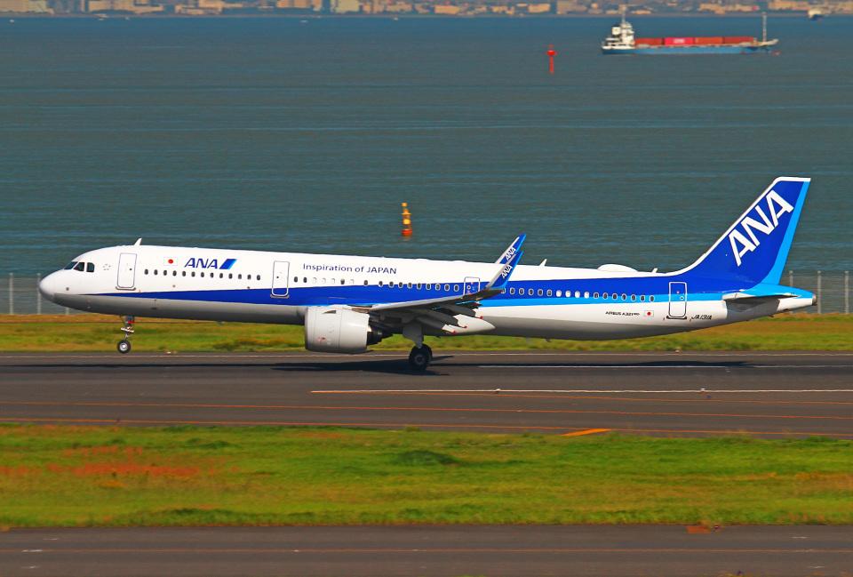 りんたろうさんの全日空 Airbus A321neo (JA131A) 航空フォト