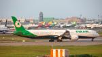 ケロリ/Keroriさんが、台湾桃園国際空港で撮影したエバー航空 787-10の航空フォト(飛行機 写真・画像)