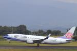 non-nonさんが、鹿児島空港で撮影したチャイナエアライン 737-809の航空フォト(写真)