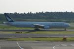 神宮寺ももさんが、成田国際空港で撮影したキャセイパシフィック航空 777-31Hの航空フォト(写真)
