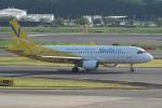 神宮寺ももさんが、成田国際空港で撮影したバニラエア A320-214の航空フォト(写真)