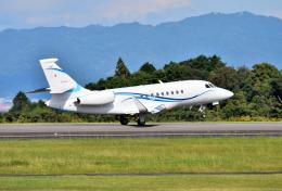 mojioさんが、静岡空港で撮影した静岡エアコミュータ Falcon 2000EXの航空フォト(写真)