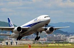 キットカットさんが、伊丹空港で撮影した全日空 777-281の航空フォト(写真)