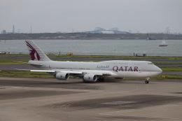 ax0110さんが、羽田空港で撮影したカタールアミリフライト 747-8KB BBJの航空フォト(写真)
