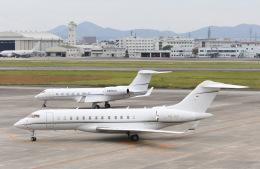 tamtam3839さんが、名古屋飛行場で撮影したRolex SA BD-700-1A10 Global 7000の航空フォト(写真)