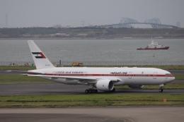 ax0110さんが、羽田空港で撮影したアミリ フライト 777-2AN/ERの航空フォト(写真)