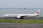 yabyanさんが、羽田空港で撮影した日本航空 777-346/ERの航空フォト(飛行機 写真・画像)