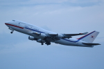 AkilaYさんが、羽田空港で撮影した大韓民国空軍 747-4B5の航空フォト(飛行機 写真・画像)