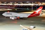 EY888さんが、羽田空港で撮影したカンタス航空 747-438/ERの航空フォト(写真)