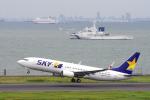 yabyanさんが、羽田空港で撮影したスカイマーク 737-86Nの航空フォト(飛行機 写真・画像)