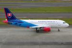 yabyanさんが、中部国際空港で撮影したスロバキア政府 A319-115CJの航空フォト(飛行機 写真・画像)