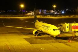 masa707さんが、エセンボーア国際空港で撮影したウクライナ国際航空 737-8ASの航空フォト(飛行機 写真・画像)